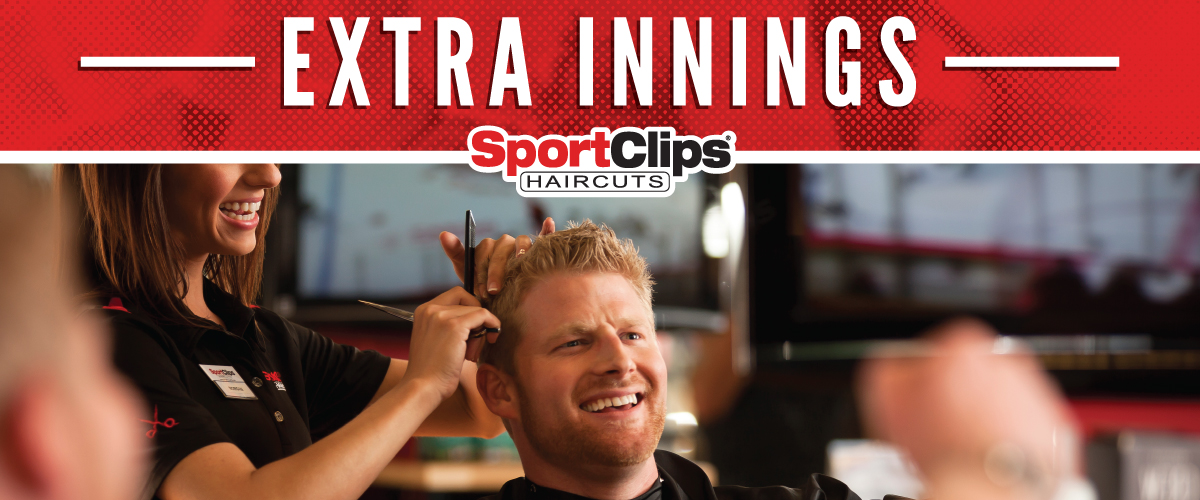 The Sport Clips Haircuts of Rancho Bernardo Town Center Extra Innings Offerings